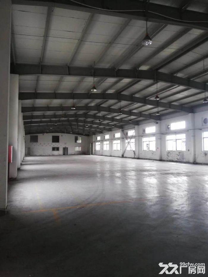 高速出口附近1050平米可做快递仓库贸易电商单层厂房出租-图(6)