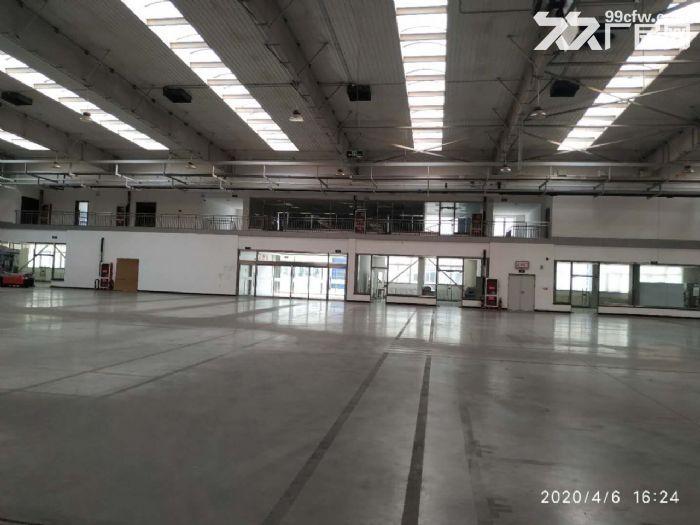 钢架厂房空置地块随时起租挑高10米配套齐全价格低-图(1)