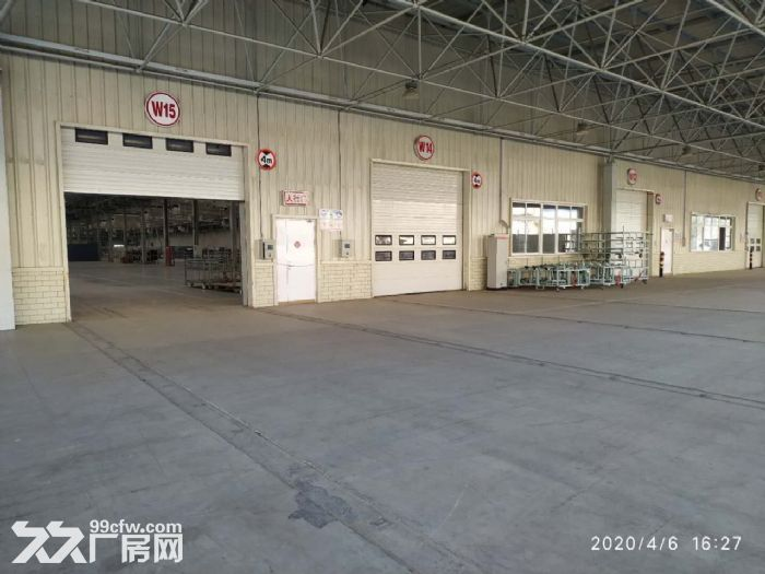 钢架厂房空置地块随时起租挑高10米配套齐全价格低-图(3)