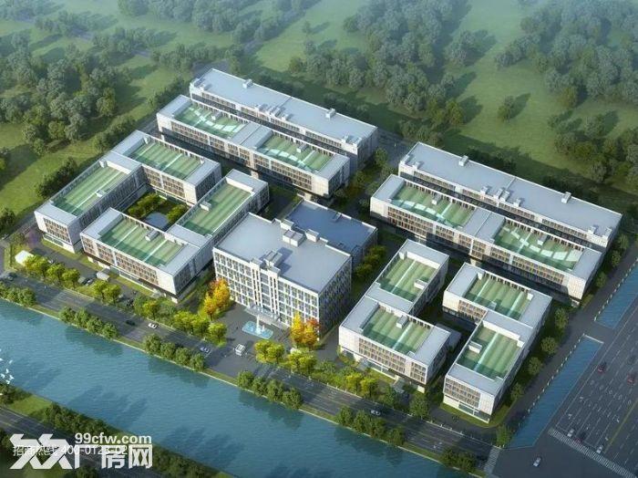 k中南高科长三角多个园区独栋厂房出售800平起售独栋三层首层8.1米,-图(4)