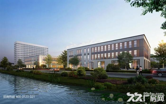 k中南高科长三角多个园区独栋厂房出售800平起售独栋三层首层8.1米,-图(7)