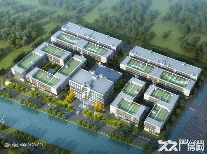 L中南高科长三角多个园区独栋厂房出售800平起售独栋三层首层8.1米,-图(1)