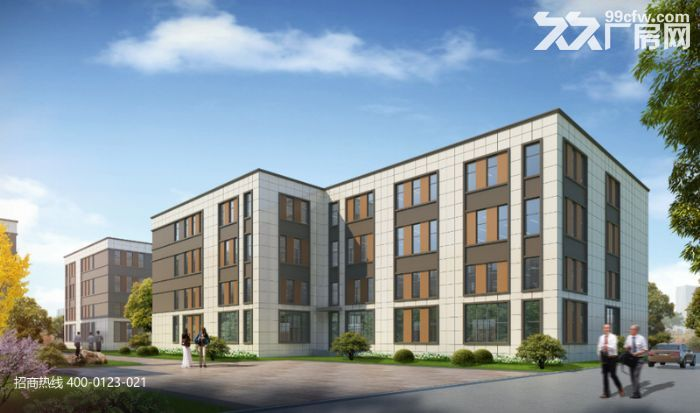 L中南高科长三角多个园区独栋厂房出售800平起售独栋三层首层8.1米,-图(3)