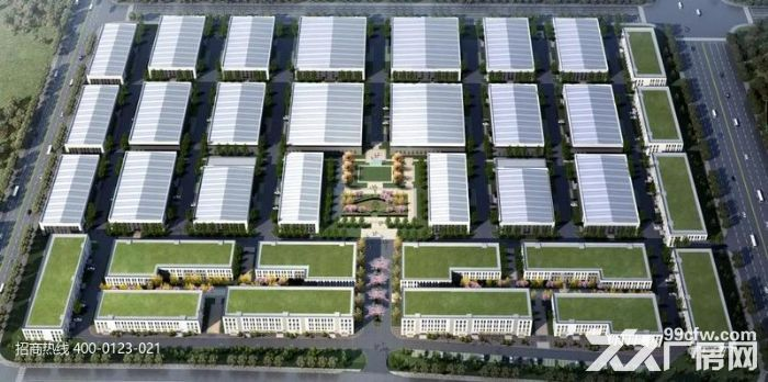 P中南高科长三角多个园区独栋厂房出售800平起售独栋三层首层8.1米,-图(1)