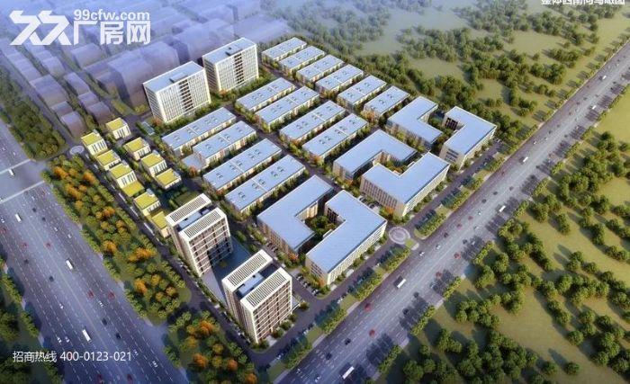 R中南高科长三角多个园区独栋厂房出售800平起售独栋三层首层8.1米-图(5)