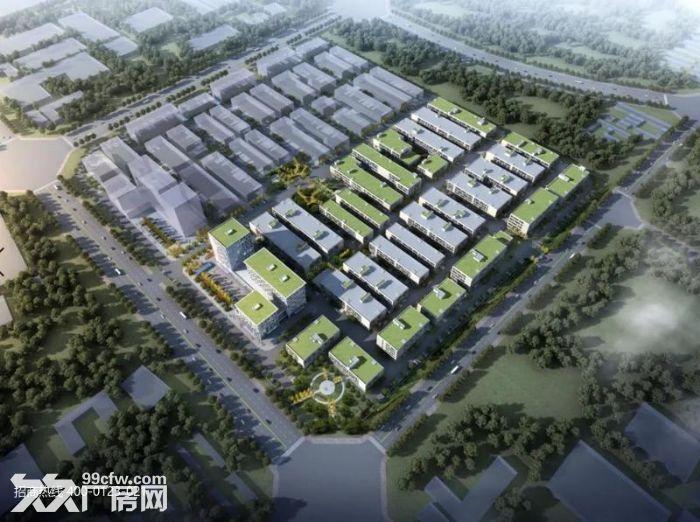 Z中南高科长三角多个园区独栋厂房出售800平起售独栋三层首层8.1米-图(1)