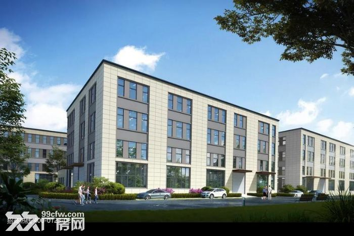 Z中南高科长三角多个园区独栋厂房出售800平起售独栋三层首层8.1米-图(4)