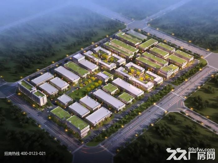 Z中南高科长三角多个园区独栋厂房出售800平起售独栋三层首层8.1米-图(8)