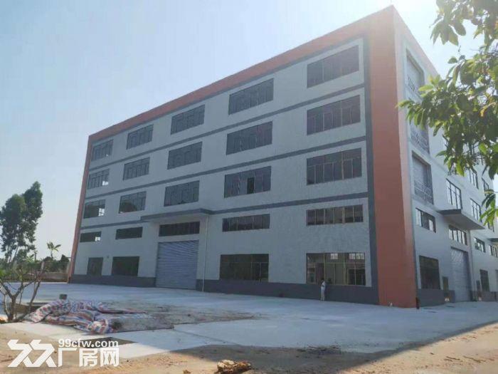 三水白坭全新楼层10000平方厂房出租园区有天然气到有市政排污租13元-图(1)
