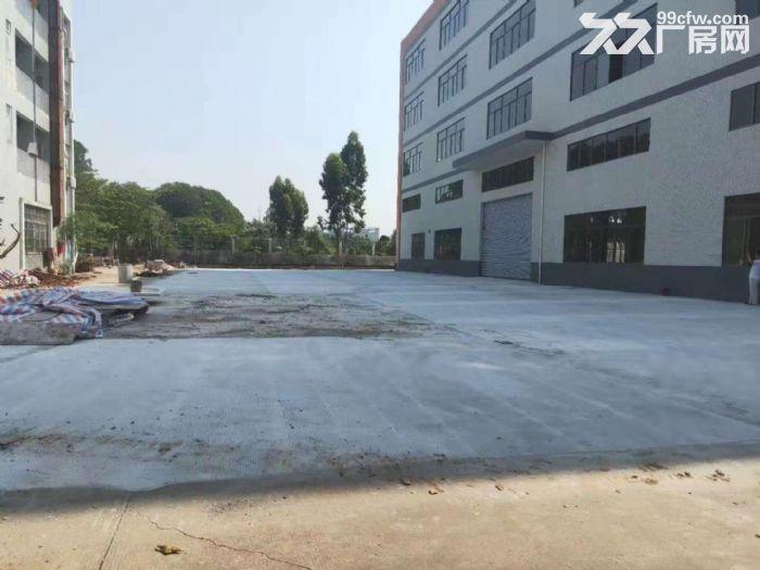 三水白坭全新楼层10000平方厂房出租园区有天然气到有市政排污租13元-图(2)