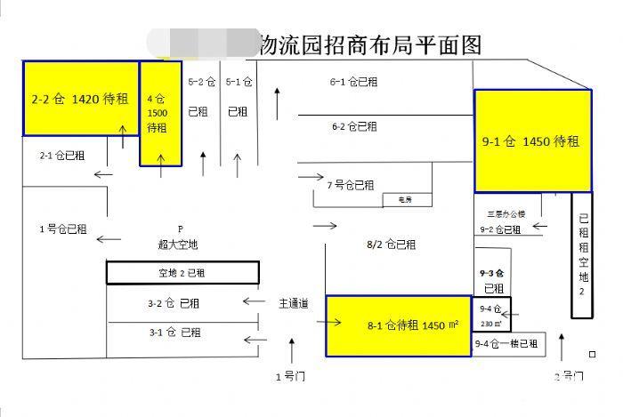 狮山小塘单一层物流园仓库厂房出租,剩面积约6000平方,大小面积可分租-图(1)