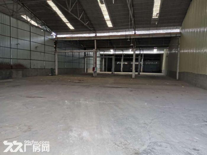 狮山小塘单一层物流园仓库厂房出租,剩面积约6000平方,大小面积可分租-图(3)
