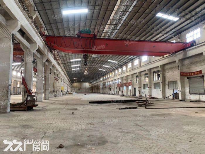 高明区富湾工业区独门独院6300方带航车厂房出租-图(2)