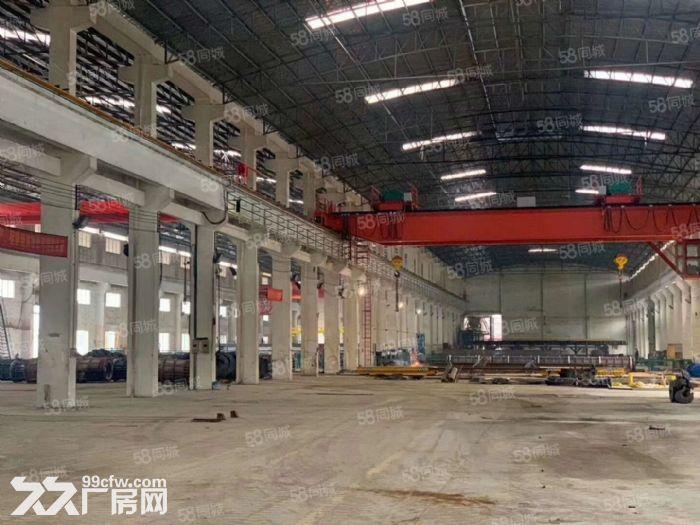 高明区富湾工业区独门独院6300方带航车厂房出租-图(3)