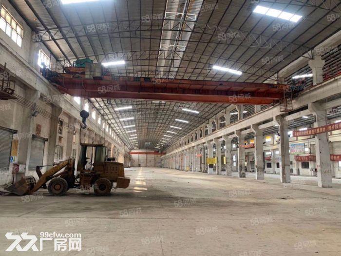高明区富湾工业区独门独院6300方带航车厂房出租-图(4)