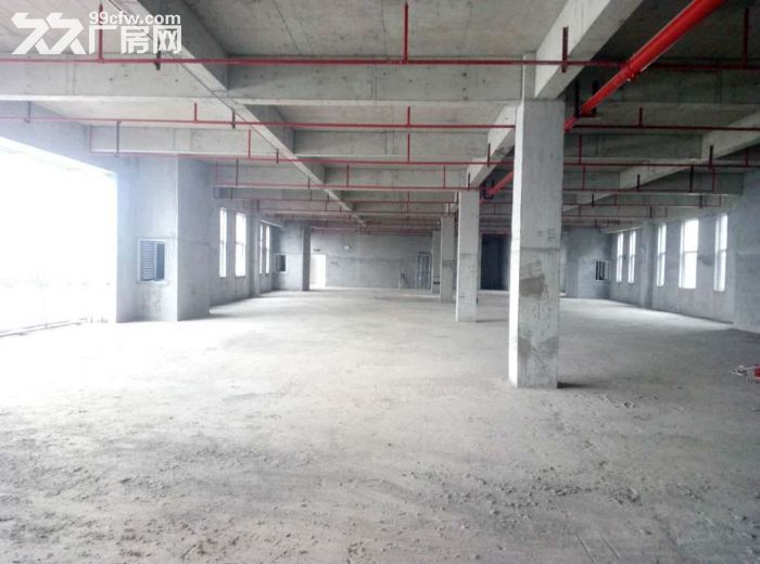3层独栋工业质性厂房仓库展厅1500平方米形象好~-图(6)