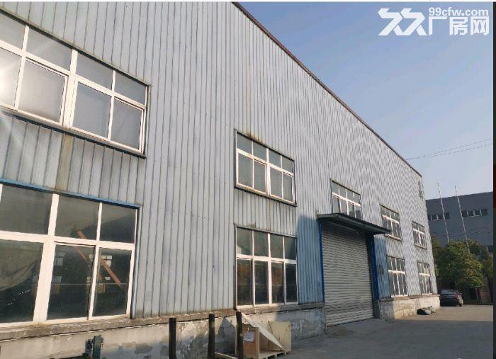 出租钟管独门独院全新厂房4446方2层一楼层高9.5米-图(1)