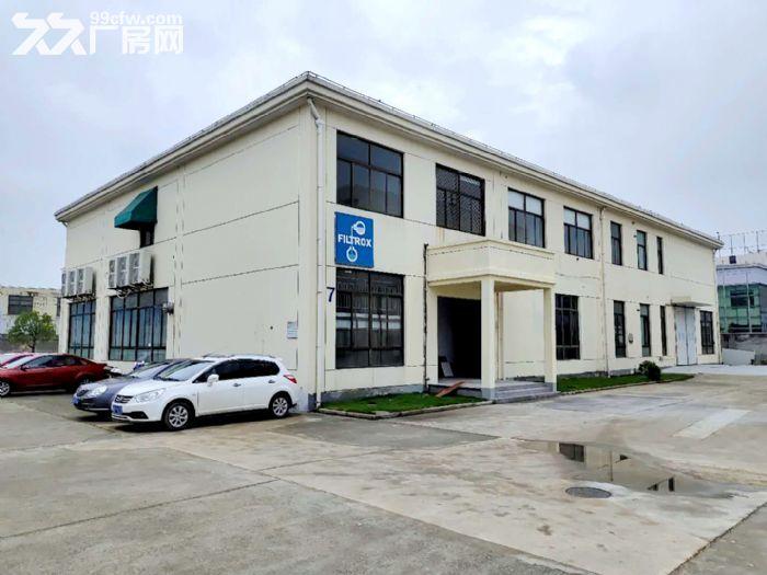 原房东直租丨青浦工业园区1750平独栋厂房空地大绿化适宜-图(1)