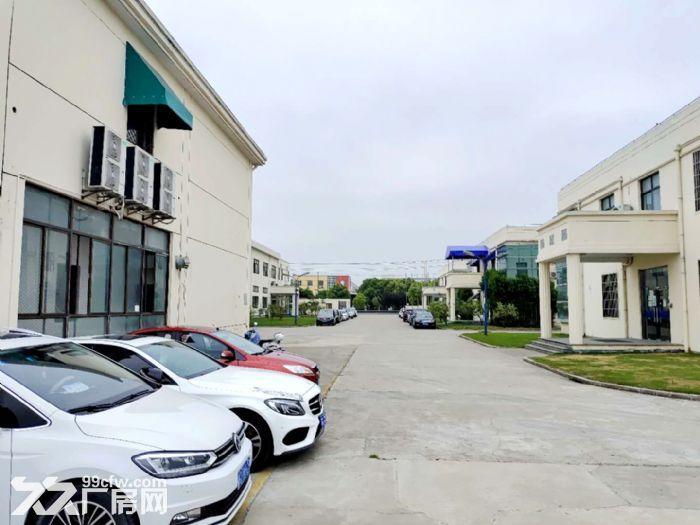 原房东直租丨青浦工业园区1750平独栋厂房空地大绿化适宜-图(4)