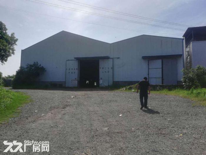 12亩独门院钢结构厂房2300平方米315专变-图(1)
