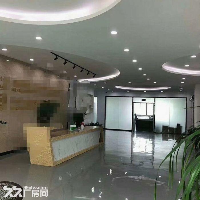 宝安松岗罗田广田路边楼上2400平精装厂房出租。-图(1)