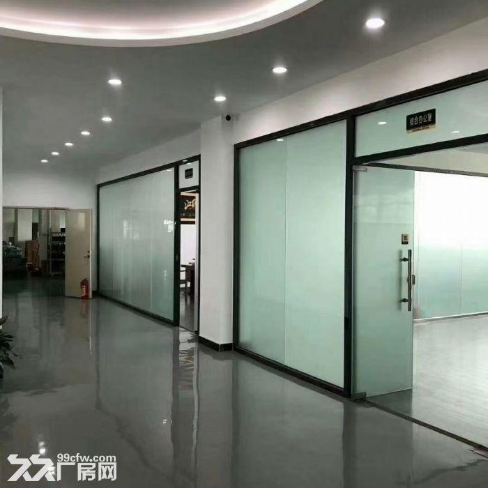 宝安松岗罗田广田路边楼上2400平精装厂房出租。-图(3)