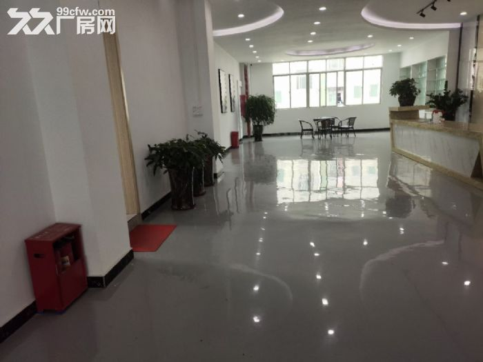 宝安松岗罗田广田路边楼上2400平精装厂房出租。-图(4)