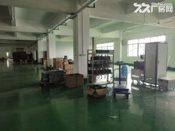 宝安松岗罗田广田路边楼上2400平精装厂房出租。-图(5)