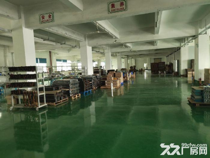 宝安松岗罗田广田路边楼上2400平精装厂房出租。-图(6)