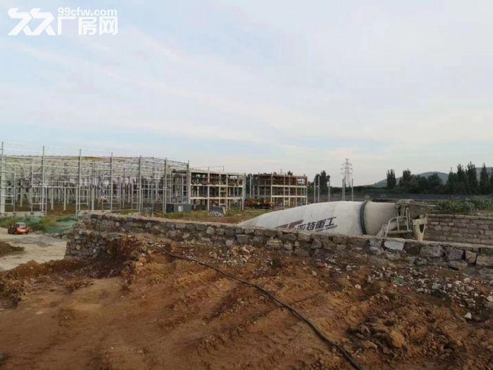 政府扶持独门独栋配套齐全全新钢结构现房厂房对外出租-图(4)