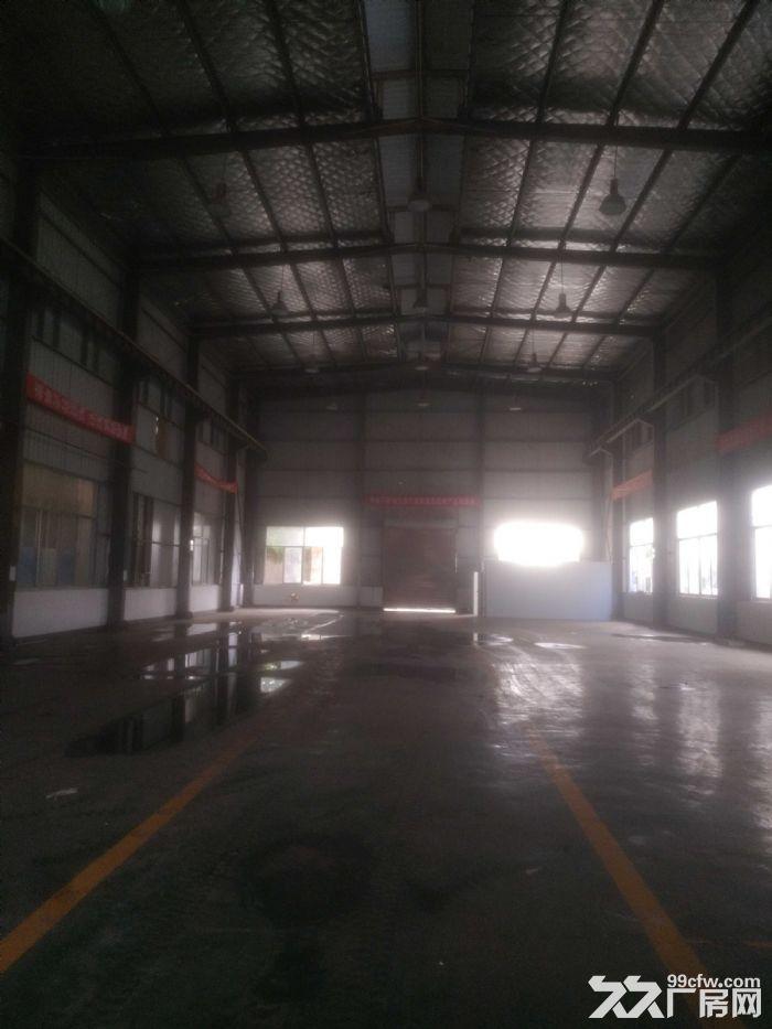 汽车南站雨花环保工业园标准钢结构厂房带5吨龙门吊急租-图(1)
