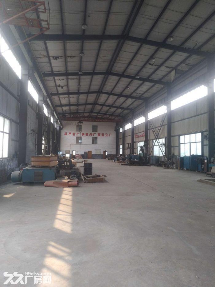 汽车南站雨花环保工业园标准钢结构厂房带5吨龙门吊急租-图(4)