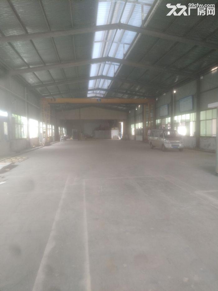 汽车南站雨花环保工业园标准钢结构厂房带5吨龙门吊急租-图(6)