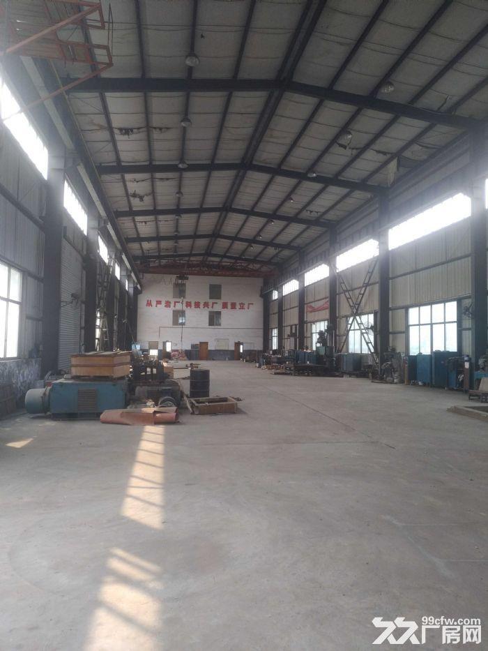 城南雨花环保工业园标准钢结构带行车厂房急租可做加工-图(3)