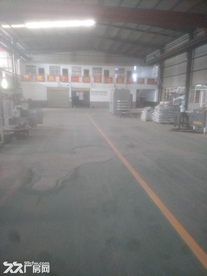 城南雨花环保工业园标准钢结构带行车厂房急租可做加工-图(4)