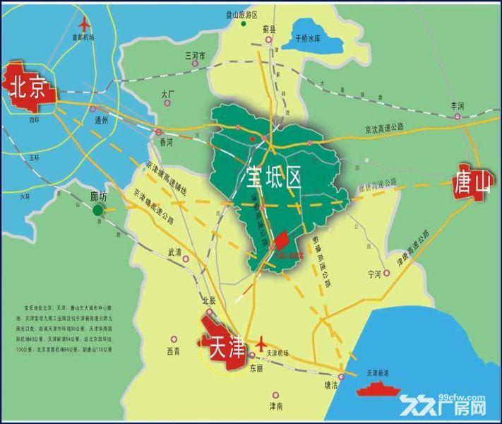 天津青岛滦河地图